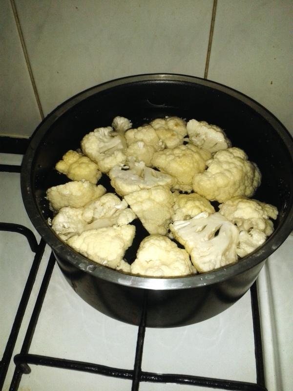 cookies larder cauliflower cheese  florets
